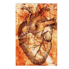 Unhealthy heart Postcards (Package of 8)