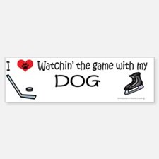 hockey Bumper Bumper Sticker