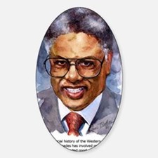 Thomas Sowell Sociology Sticker (Oval)