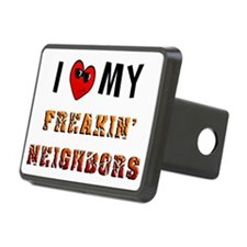 freakin neighbors redo cop Hitch Cover