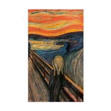 The Scream Decal