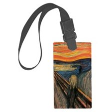 The Scream Luggage Tag