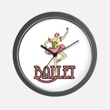 Ballet Dancer Wall Clock