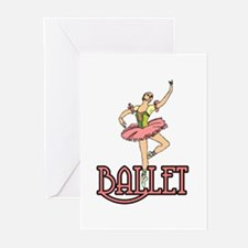 Ballet Dancer Greeting Cards (Pk of 10)
