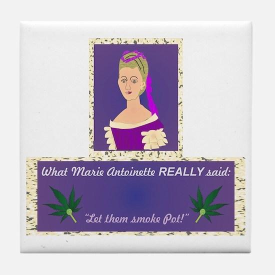 Marie Antoinette Tile Coaster