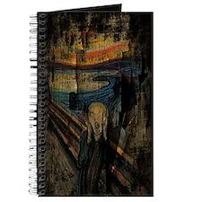 The Scream Grunge Paint iPad Mini Case Journal