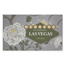 Wedding In Las Vegas Decal