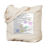 Vet tech Canvas Tote Bag