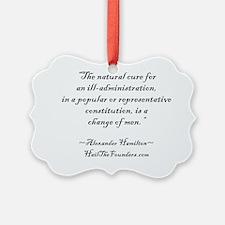 Alexander Hamilton: The natural c Ornament