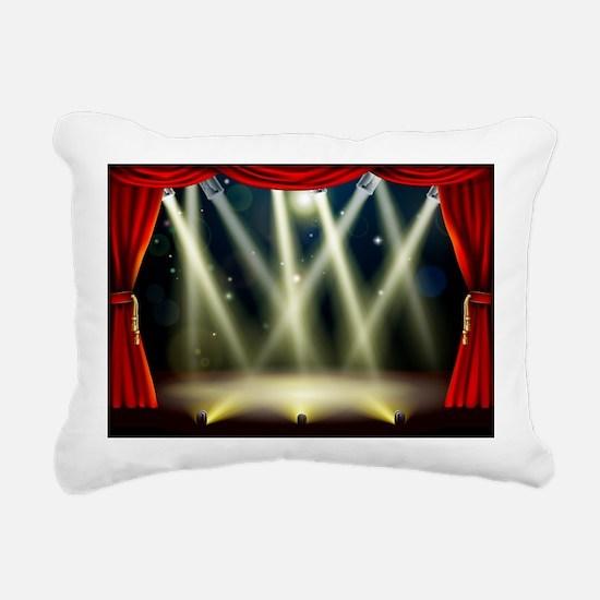 Stage Rectangular Canvas Pillow