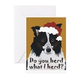 Border collie Greeting Cards (20 Pack)