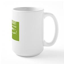 greeting card Life isnt about waiting f Mug
