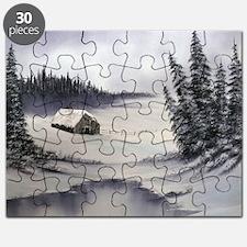 Snowbound Cabin Puzzle