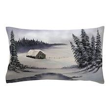 Snowbound Cabin Pillow Case