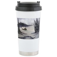 Snowbound Cabin Travel Mug