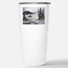 Snowbound Cabin Travel Mug
