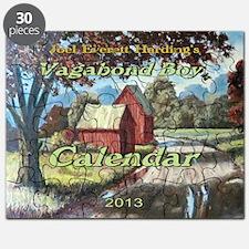 Vagabond Boy Calendar Cover Puzzle