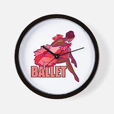 Waiting Ballerina Wall Clock