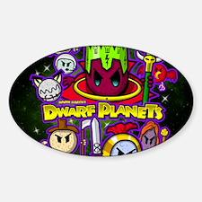 DWARF PLANETS - Decal