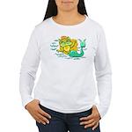 Kitty Mermaid Women's Long Sleeve T-Shirt