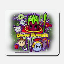 DWARF PLANETS - Mousepad