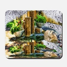 pillar fountains Mousepad
