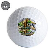 pillar fountains Golf Ball