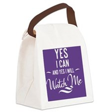 greeting card Yes I can and Yes I Canvas Lunch Bag