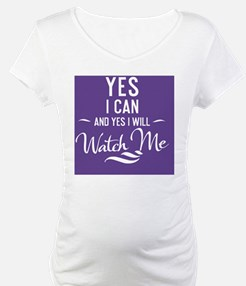 greeting card Yes I can and Yes  Shirt