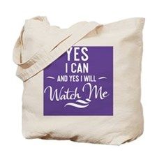greeting card Yes I can and Yes I will Wa Tote Bag