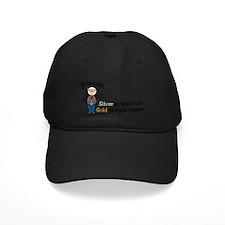 Silver Hair Baseball Hat