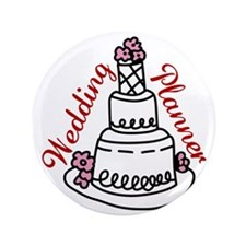 "Wedding Planner 3.5"" Button"