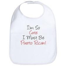 Im So Cute Puerto Rican Bib