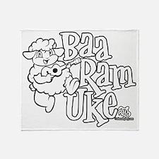 Baa Ram Uke Throw Blanket