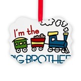 Big brother train Picture Frame Ornaments