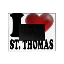 I Heart St. Thomas Picture Frame