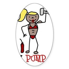 I Pump Decal