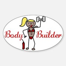 Body Builder Decal