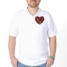 Heart of Music Jewelry T-Shirt