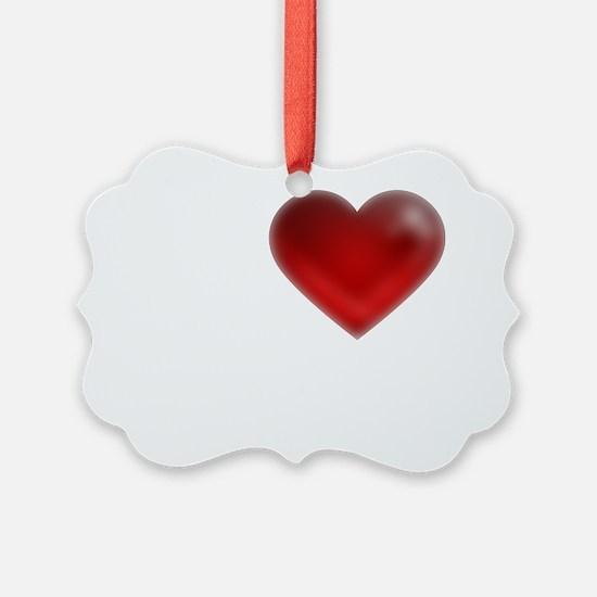 I Heart St. Thomas Ornament