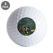 purple wildflower Golf Ball