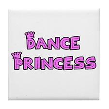Dance Princess Tile Coaster