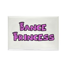 Dance Princess Rectangle Magnet (10 pack)