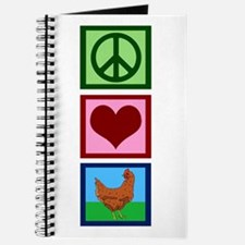 Peace Love Chickens Journal
