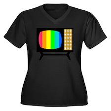 1959 Spectra Women's Plus Size Dark V-Neck T-Shirt