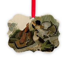 Ruffled Grouse Ornament