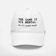 """Mental Game"" Baseball Baseball Cap"