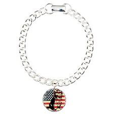 Americat Charm Bracelet, One Charm