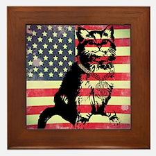 Americat Framed Tile