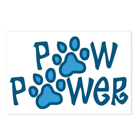 Paw Power Postcards (Package of 8)